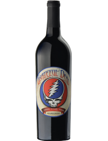 Wines that Rock Grateful Dead Red Wine Blend Mendocino County USA Rouge 2011
