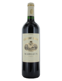 Château Siran Margaux Cru Bourgeois Exceptionnel Rouge 2007 - Caisse Bois d'origine de 12 bouteilles