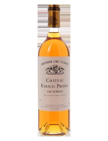 Château Rabaud-Promis 1er Grand Cru Classé Sauternes Blanc liquoreux 1982