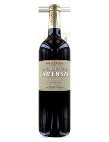 La Closerie de Camensac 2ème vin de Château Camensac Haut-Médoc Rouge 1996