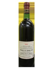 Domaine du Grand Parc Premières Côtes de Bordeaux Rouge 1983