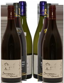 Carton découverte vin Bourgogne Grand Auxerrois 6 bouteilles
