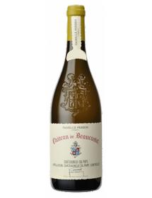 Château de Beaucastel Châteauneuf-du-Pape Blanc 2014 - Caisse Bois d'origine de 6 bouteilles