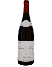 Nicolas Potel Chambolle-Musigny Villages Vieilles Vignes 2001
