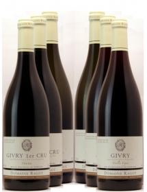 Carton découverte vin Bourgogne Givry 6 bouteilles