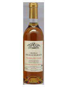 Château Sigalas Rabaud 1er Grand Cru Classé Sauternes Blanc liquoreux 1988