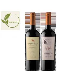 Coffret vin Chili Agriculture Biologique 2 bouteilles