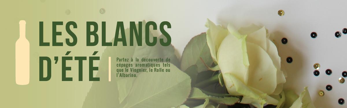 Vins blancs d'été : rolle, vermentino, viognier et albarino