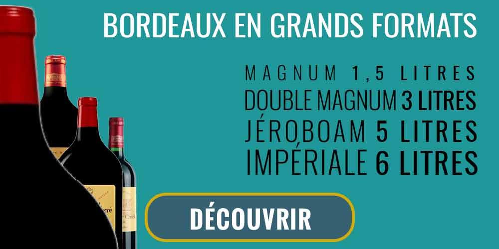 Bordeaux bouteilles grands formats