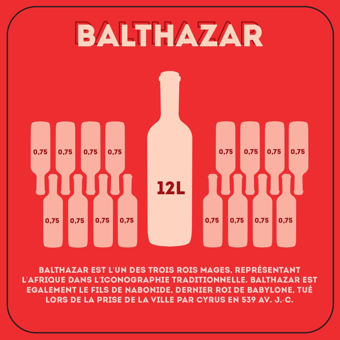 Balthazar de 12 litres