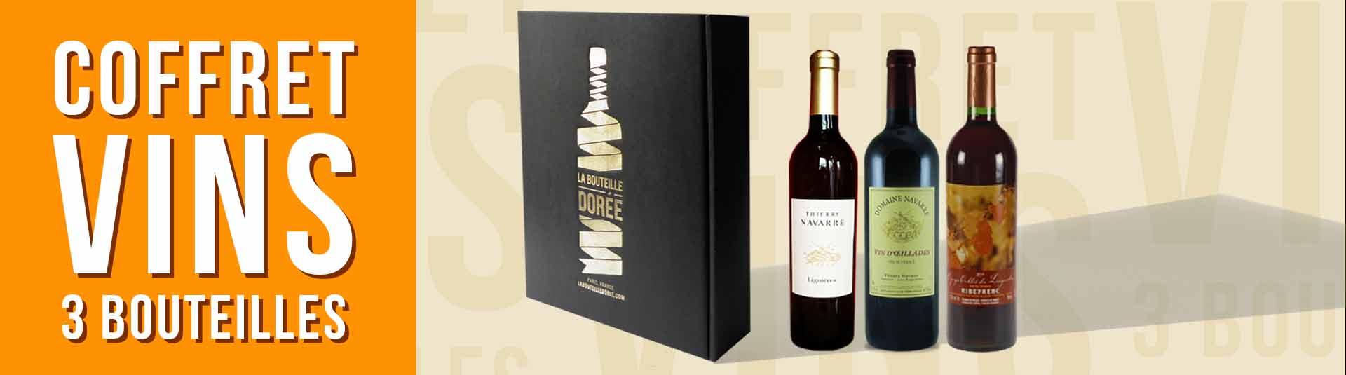 Cépares rares - Coffret vin 3 bouteilles