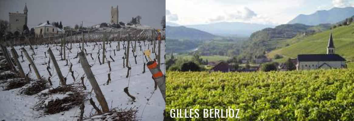 Gilles Berlioz - Domaine partagé : vins de Savoie