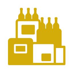 Un vaste choix de vins et champagnes pour les cadeaux d'affaires