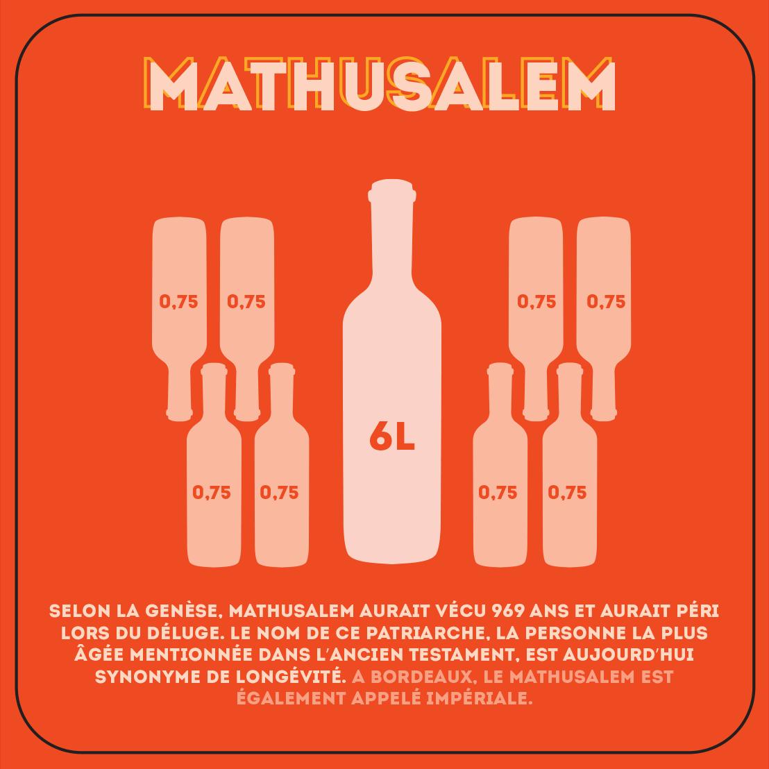 Mathusalem de 6 litres