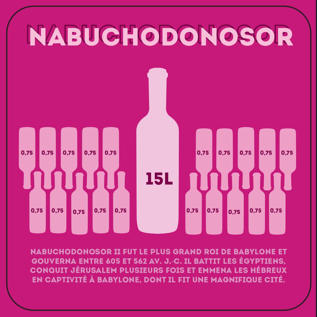 Nabuchodonosor de 15 litres