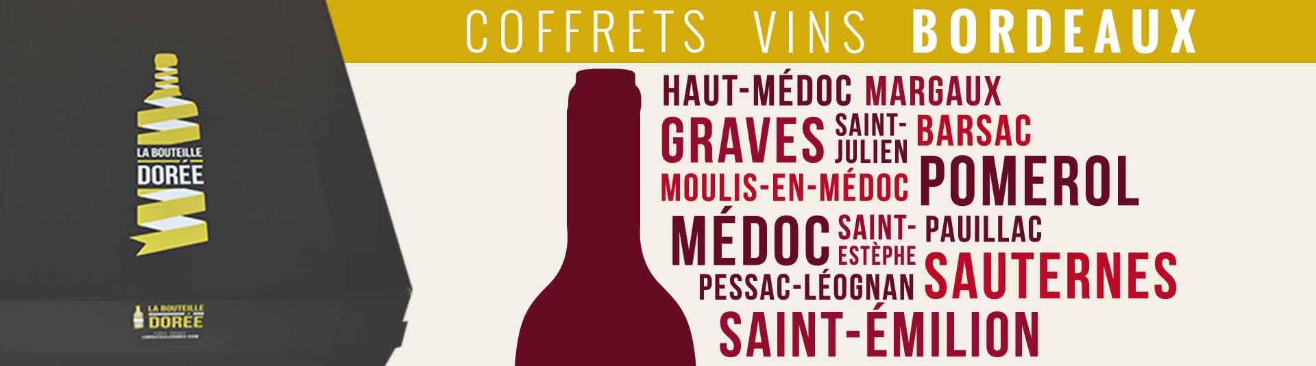 Box cadeau vins de Bordeaux