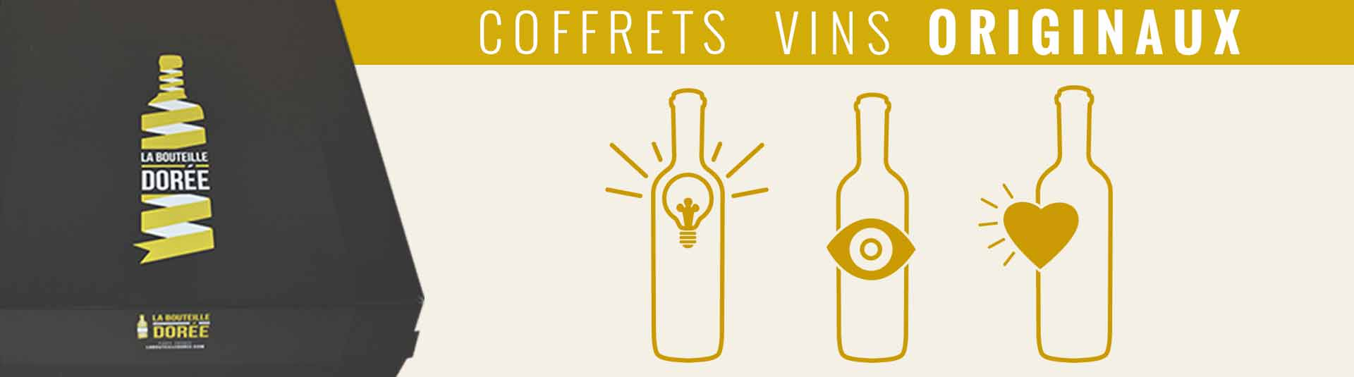 Coffret vin original