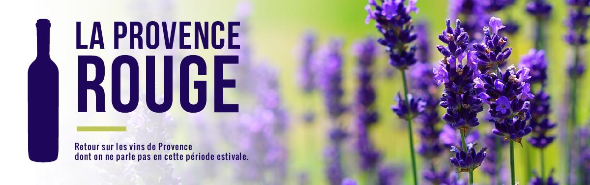 Vins rouges de Provence