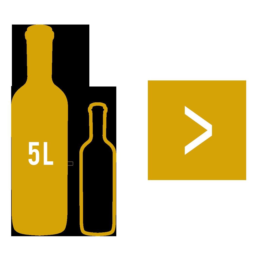 Le Jéroboam à Bordeaux : bouteille de 5 litres