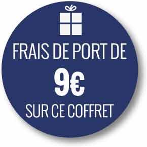 Frais de port réduits de 9 euros