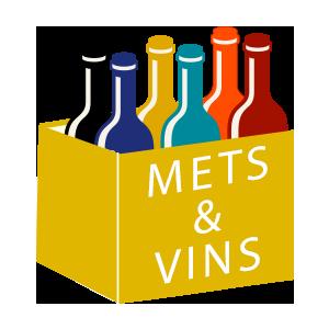 coffrets vins à themes mets & vins