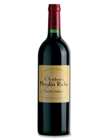Château Moulin Riche Saint-Julien Rouge 2008