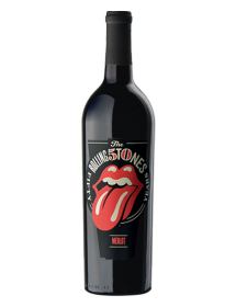 Wines that Rock Rolling Stones Forty Licks Merlot Mendocino County USA Rouge 2012