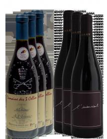 Carton découverte vin Grenache 6 bouteilles