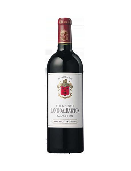 Château Langoa-Barton Saint-Julien 3èmeGrand CruClasséRouge 2009 - Caisse Bois d'origine de 12 bouteilles