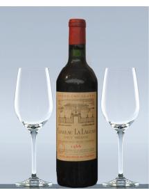 Coffret vin anniversaire 1966 Château La Lagune