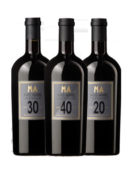 Coffret vin Maury à travers les âges