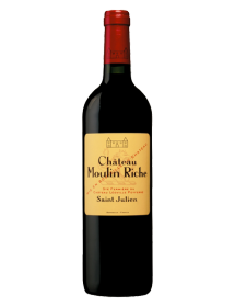 Château Moulin Riche Cru Bourgeois Saint-Julien Rouge 1996