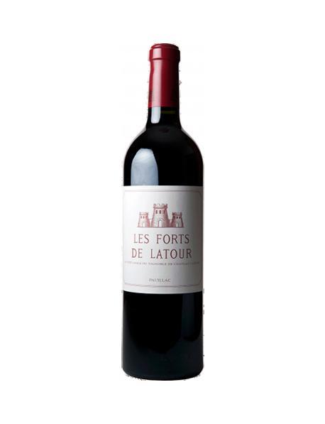Les Forts de Latour 2ème vin du Château Latour Pauillac Rouge 1975