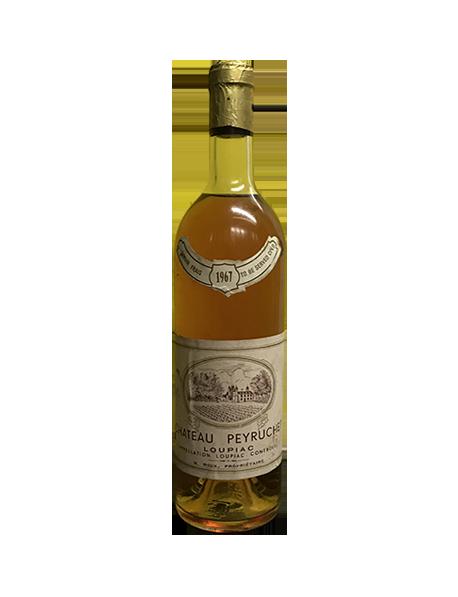 Château Peyruchet Loupiac Blanc Liquoreux 1967