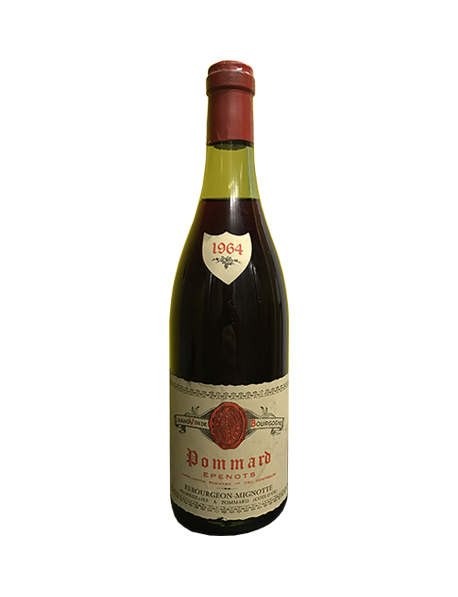 Domaine Rebourgeon-Mignotte Pommard Epenots 1964