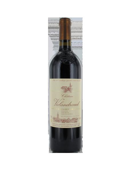 Château Valandraud Saint-Emilion 1er Grand Cru Classé B 2005 - Caisse Bois d'origine de 12 bouteilles