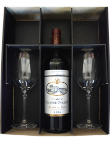 Coffret de deux verres de dégustation In Vino Veritas 370 ml