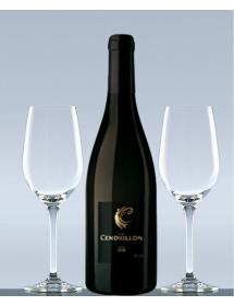 Coffret vin Cobières N°1 et 2 verres de dégustation