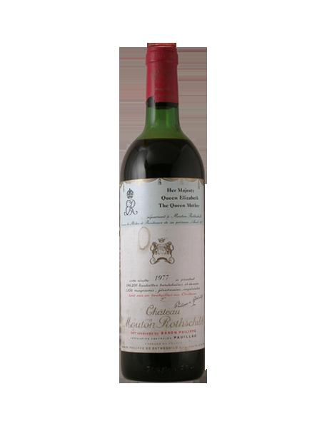 Château Mouton Rothschild 1er Grand Cru Classé Pauillac Rouge 1977