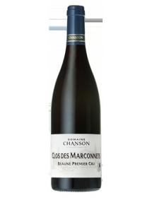 Domaine Chanson Beaune Clos des Marconnets 1er Cru Monopole Rouge 1996