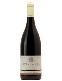 Domaine Ragot Givry 1er Cru Clos Jus Rouge 2014