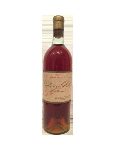 Château Gilette Sauternes Blanc Liquoreux 1937
