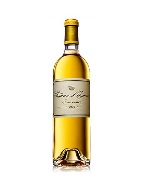 Château d'Yquem 1er Grand Cru Classé Sauternes Blanc liquoreux 2008 1/2 bouteille
