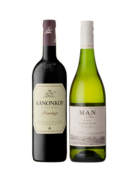 Coffret vin Afrique du Sud Découverte 2 bouteilles
