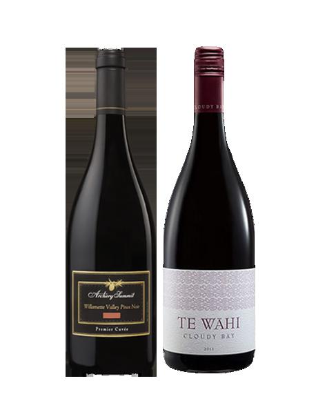 Coffret vin Pinot Noir Nouveau Monde 2 bouteilles