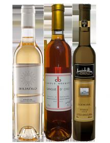 Coffret vin blanc liquoreux Passion 3 bouteilles