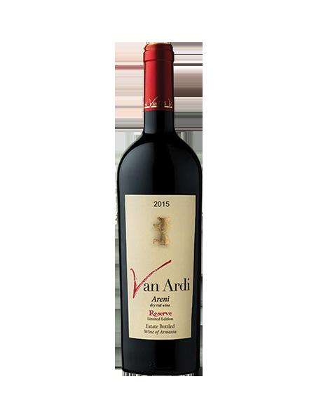 Van Ardi Areni Reserve Limited Edition Arménie Rouge 2015