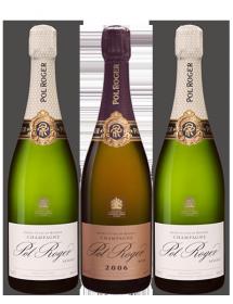 Coffret Champagne Pol Roger