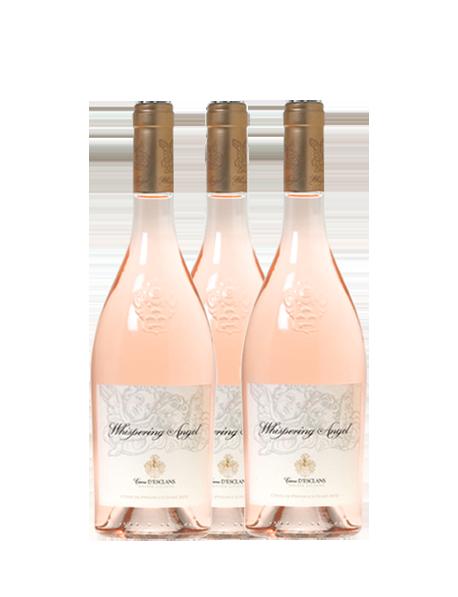 Coffret découverte vin rosé Château d'Esclans