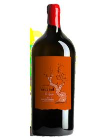 Château du Vieux Puit Blaye-Côtes-de-Bordeaux Les Racines Rouge 2014 Salmanazar 9 litres - Caisse Bois d'origine